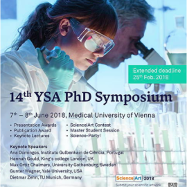 YSA PhD Symposium 2018